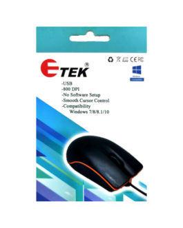 ETEK AM 1109 USB MOUSE WIRED