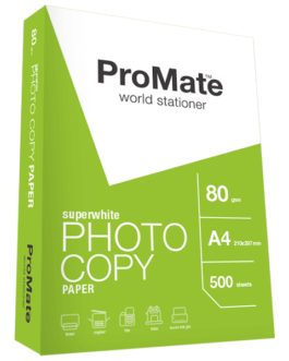 PROMATE 80GSM A4 PAPER PACK